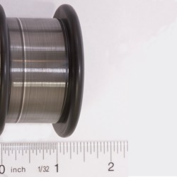 picture of small diameter silver wire